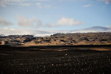 Terre volcanique Islande