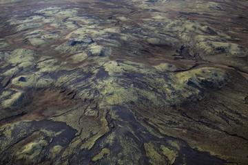 Terre Volcanique vue aérienne