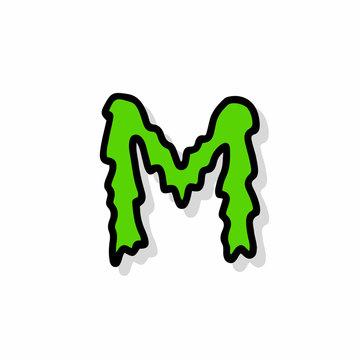 Slimy Vector Logo Illustration M