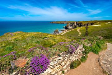 Carnewas & Bedruthan Steps Cornwall