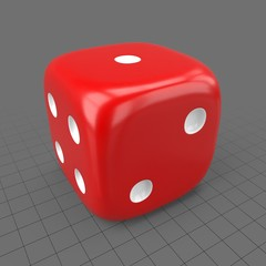 Rounded dice