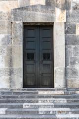 Tür auf der Walhalla Regensburg