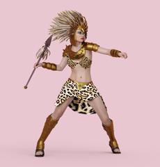 Amazonen Kriegerin