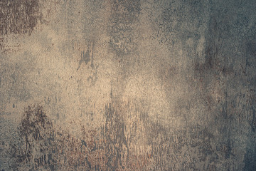 Wall Mural - Grunge metal background or texture with scratches and cracks.