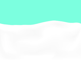 Türaufkleber Flugzeug EPS 10 vector. Realistic milk or yogurt background made with gradient mesh.