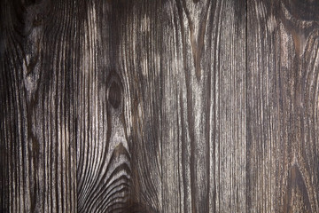 Wood texture, natural wooden brown background, pattern on surface. Empty painted boards