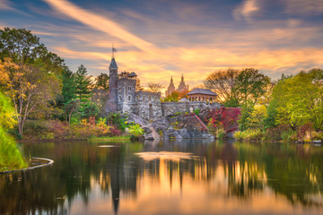 Fototapete - Central Park, New York City