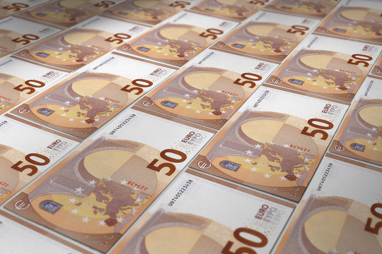 Billet euro verso