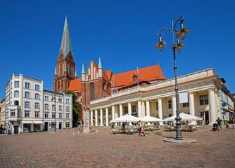 Schwerin Markt Innenstadt