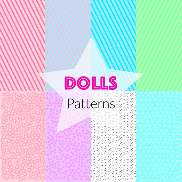 Seamless vector patterns in LOL style