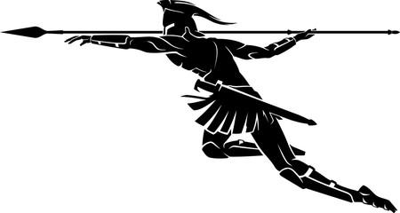 Spartan Spear Throw Attack