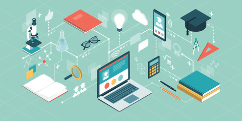 E-learning platform and online courses
