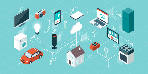 Internet of things and smart home