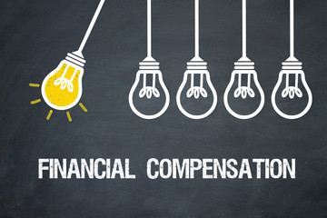 Financial compensation Wall mural