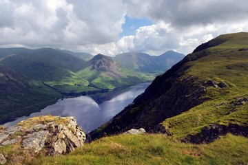 Looking down to Wast Water