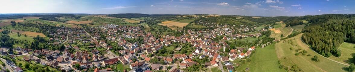 Stadtpanorama von Gültlingen