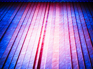 Pink and purple curtains illustration background hd