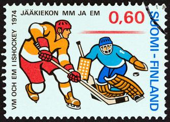 Ice Hockey players (Finland 1974)