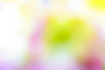 紫陽花のボカシ抽象写真