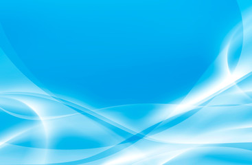 abstract graphic art wallpaper background, blue waves