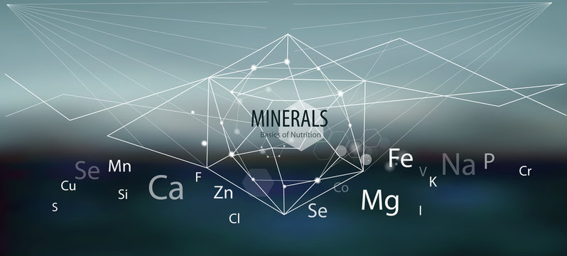 Minerals / The future is science.