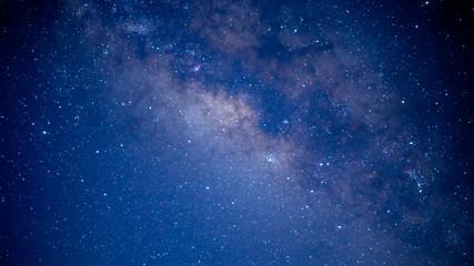 Beautiful of milkyway at night