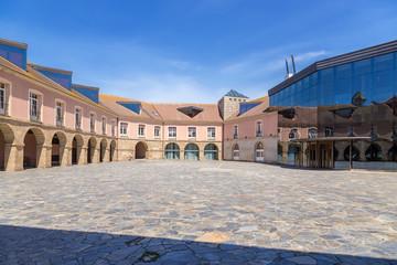 La Coruna, Spain. State University Courtyard