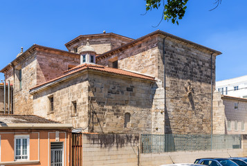 La Coruna, Spain. Convent of Santo Domingo