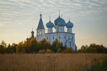 The Church of the Presentation of the Lord in Zaostrovye on the left bank of the Northern Dvina, Arkhangelsk,