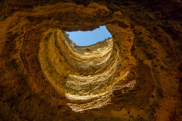 Wall Mural - Algarve, Benagil - famous sea cave