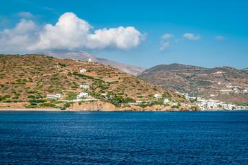 Fotomurales - Landscape of Amorgos Island, Greece.