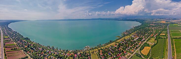 Fototapeta Lake Balaton, Hungary. obraz