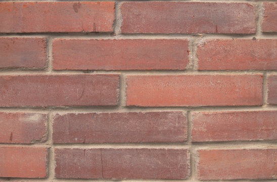 Brick wall for housing construction in Colombia and the world.