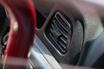 Modern sport car's interior design