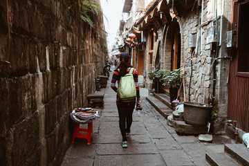 Old street of Fenghuang Ancient Town