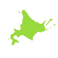 日本地図 地図 日本列島 日本 図形 北海道 本州 四国 九州