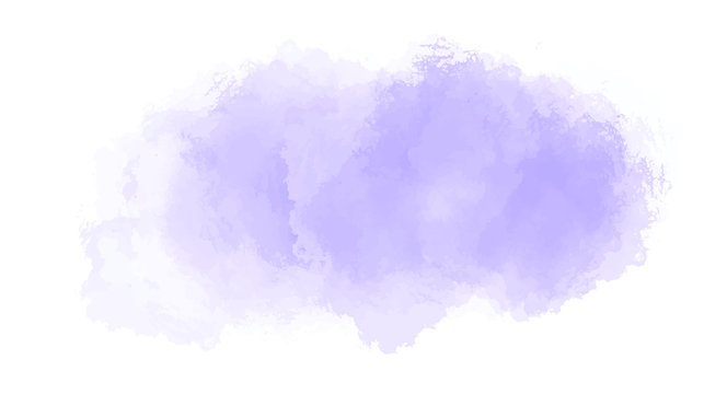 Abstract purple watercolor background for your design, watercolor background concept, vector.