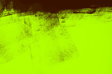 green brown paint brush strokes background