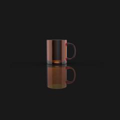 Coffe cup concept - 3D Illustration