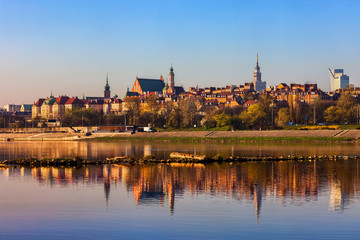 City Of Warsaw Sunrise River View