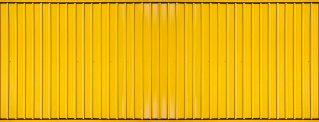 Obraz Yellow box container striped line textured background - fototapety do salonu