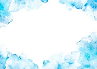 cornice sfondo nuvole
