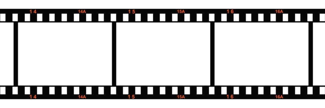 35mmフィルムのイラストCG