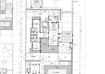 blueprint of house Fototapete