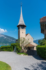 Castle Church of the Saint Kolumban in Spiez