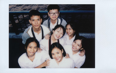 Thai student group shot