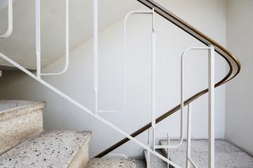 Mid century modern apartment stair