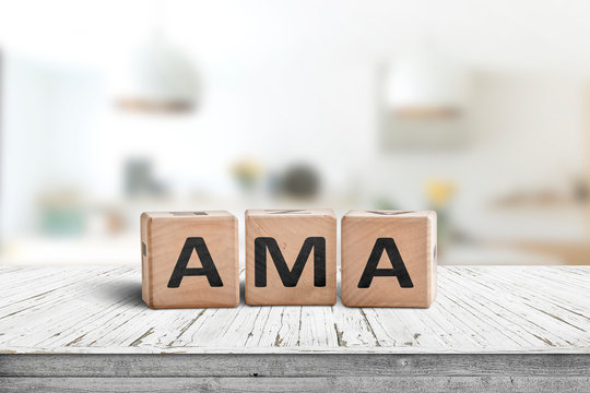 AMA ask me anything message