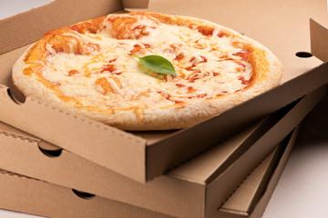 Pizza delivery. Pizza menu