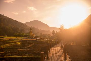 THAILAND PHRAE BUDDHA STATUE BAN NA KHUHA